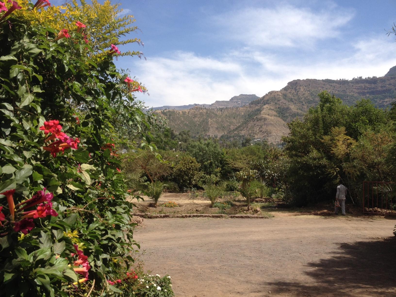 Landskap Lalibela
