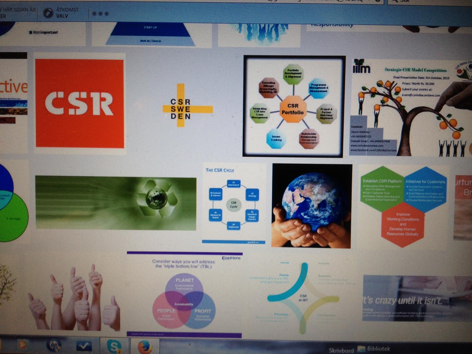 CSR-scheman