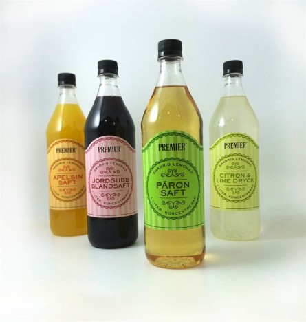 Axfood Saftflaskor
