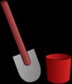 hink och spade